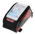 1.5L Bicycle Cycling Bike Frame Front Tube Waterproof Touch Mobile Phone Bag 3Color High Quality