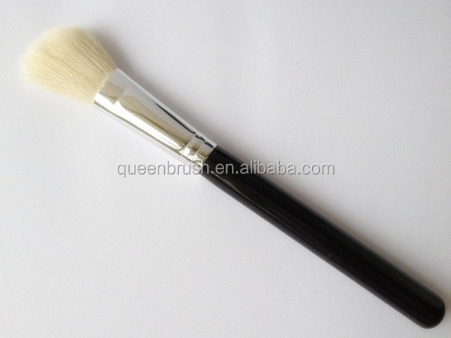 Natural Hair Cosmetic Makuep Brush Angled Powder Blush Brush Make Up