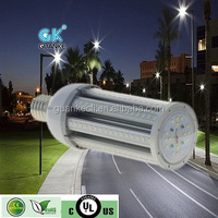 led posst top UL 150lm/w IP 65 5 years warrenty mogul base solar led street light retrofit kit 54w