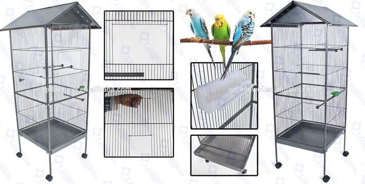 Big Parrot Steel Bird Breeding Cage For Sale