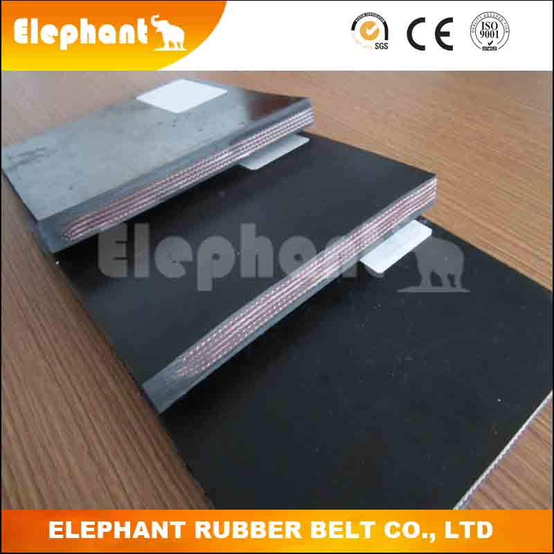 Polyester/Nylon Textile Core Rubber Belt/Conveyor Belt for Waste Shredded Paper
