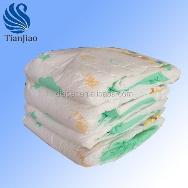 Raw materials for diaper making,cheap price baby diaper factory in China