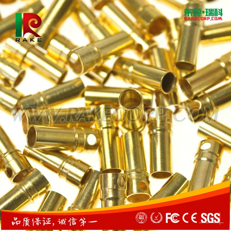 3.5MM Brass Female Banana Plug Connector Gold Plated