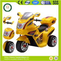 Hot sale PP plastic electrical motorcycle toys for kids
