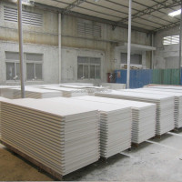 Seamless joint indoors wall panel, solid surface sheet, cultural marble