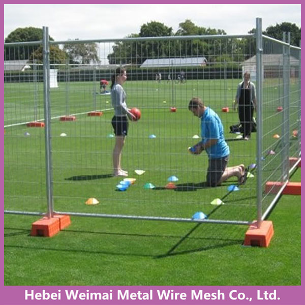 32/48mm Round tube mobile playground temporary fence systems