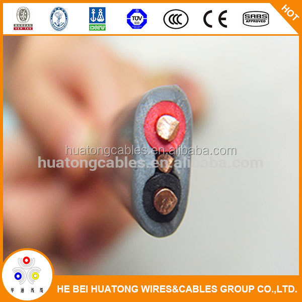 PVC Flexible House wiring electrical cable Twin and earth Flat cable and wire