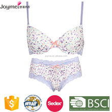 Chemical allover lace bridal ladies sexy panty and bra sets