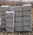 HOT sale grey granite g341 natural cobble stone