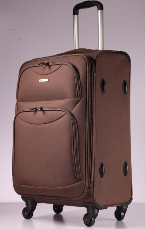 Excellent quality polyester trolley luggage bag