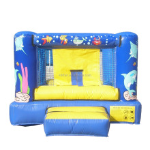 2015 beautiful deluxe outdoor games inflatable body bouncers solid quality