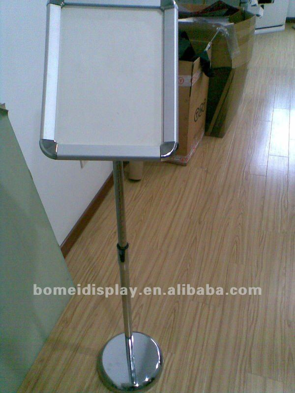Aluminum Picture Frame Floor Banner Stand