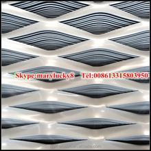 Stainless Steel Wire Material and Plain Weave Weave Style Aluminum Expanded Metal Mesh