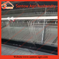 Top quality steel wire mesh pvc pipe chicken breeding cage