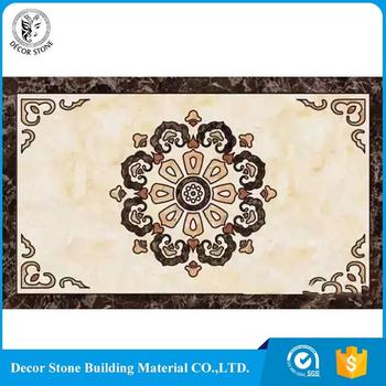 High quality long duration time rectangle lift marble medallion for sale