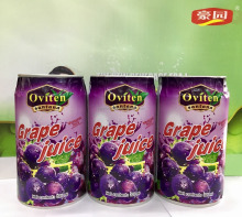 Wholesale New product Healthy 30% grape juice in 325ml tin can