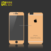 The Best Factory Price !!! 9H 0.33Mm Color Tempered Glass Screen Protector For Iphone 4s