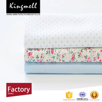 Custom home textile pure cotton fabric made in China