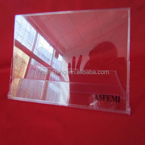 PS crytal clear calendar card package case