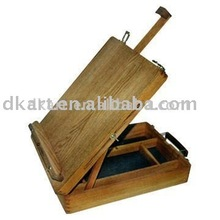 Table Painting Studio Art Sketch Stand Artist Adjustable Easel Box Wooden