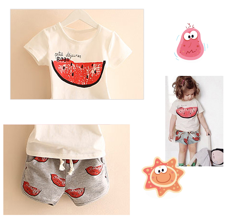 High quality childrens baby girl clothes clothing set boutique A034