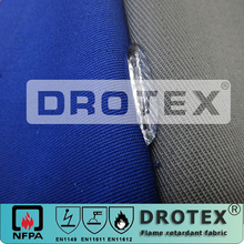 FR023 Fireproof Waterproof Fabric Roll ,Lightweight Waterproof Fire Resist Fabric Clothing,Water Repellent Non Flammable Fabric