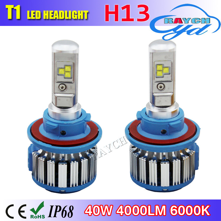 Hot Car Styling COB korean Cars Headlight LED H4 H1 H7 H13 H11 9005 9006 80W 8000LM 6000K Led Headlamp Kit DRL Fog Lamp Bulbs