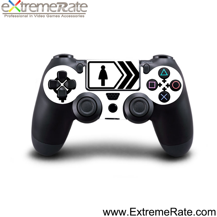 Funny design console decal for PS4 front sticker