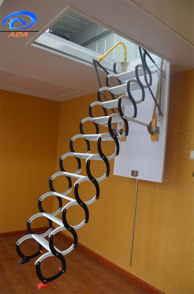 steel collapsible hanging ladder