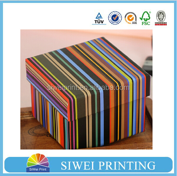 Custom full color printed paper box for essential oil