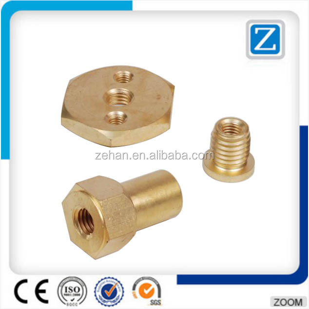 factory brass cnc lathe machined components / parts