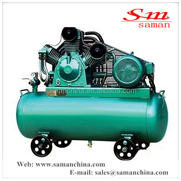 7 bar high quality and low overhead mini piston type air compressor