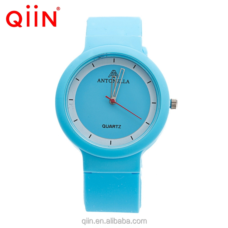 QD0004 best selling fashion silicone quartz watch