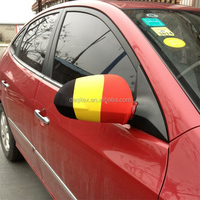 2016 EUFA Belgium flag car mirror cover