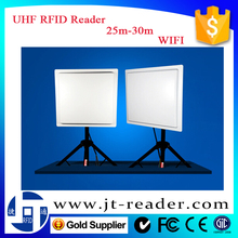 ISO 18000-6C 900MHz RS232,WIFI,Wiegand long range stand alone passive RFID Reader multi-tags reading for asset management