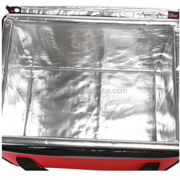 Wholesale food delivery cooler bag insulated pizza delivery bag