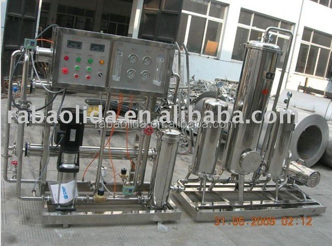Factory sale 2000lph ro water filtration plant with UV sterilizer for drinking water