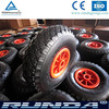 10inch small plastic rim rubber wheel 3.00-4