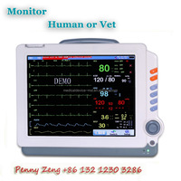 Cheap Patient Medical Monitor/Physiological Monitor for Human or Veterinary Clinic/ Hospital with Best Price - MSLMP06
