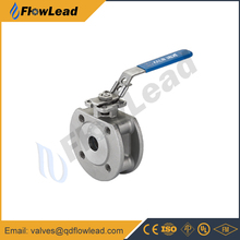 short pattern stainless steel flanged ball valve price