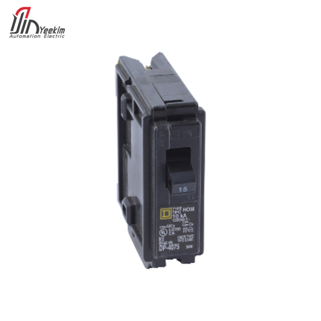 2018 hot sell stock schneider homeline Plug-on miniature circuit breaker 120V - 15A