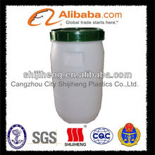40L HDPE white color chemical barrel