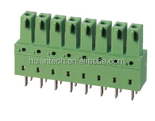 Good contact pluggable EC381CV Dinkle spring connectors
