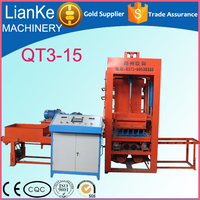 automatic cement/concrete/sand/clay brick block making machine/high performance brick making machine prices