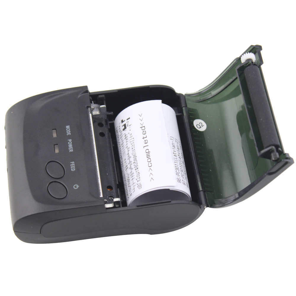 NT-5802 58mm Mini Portable Mobile Bluetooth Thermal Receipt Printer Support Android And IOS System