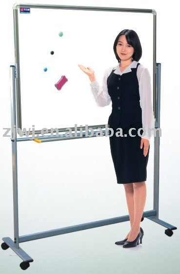YDB-001 Movable stand student doubleside witeboards movable whiteboard