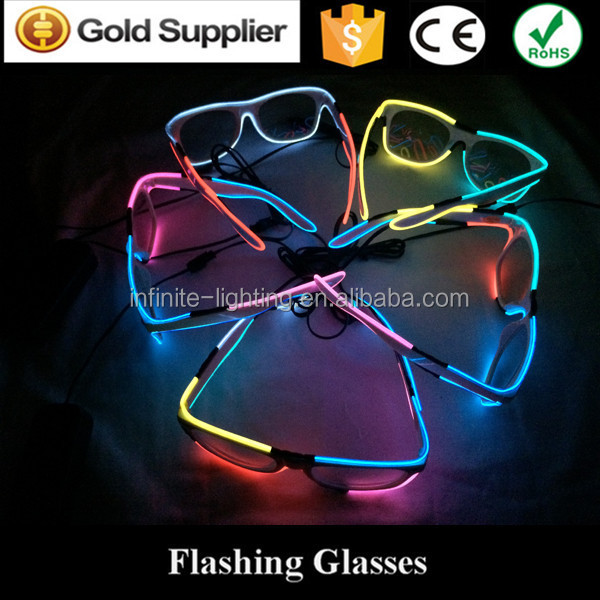 2016 flashing crazy funny party glasses, Colorful Paper Firework Glasses