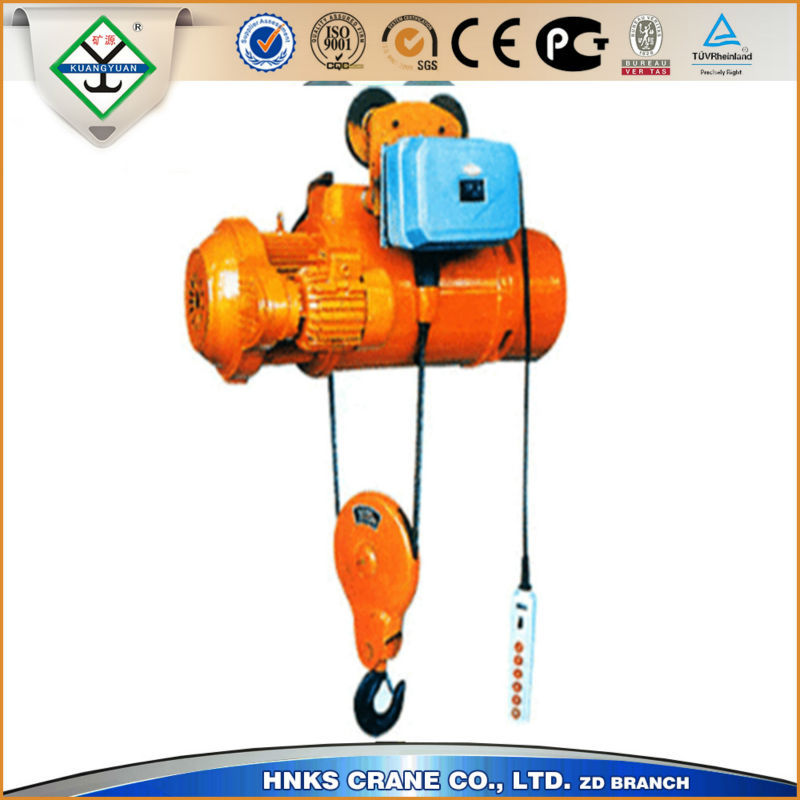 Lifting Equipment Lift Motor Electric Wire Rope Hoist For Construction Electric Wire Rope Hoist