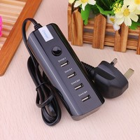 Electric Type usb socket 4 port,UL wall socket,Mobile Phone Use Universal Travel socket
