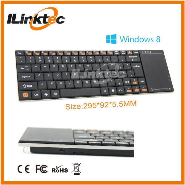 High quality wireless keyboard touchpad bluetooth keyboard for htc